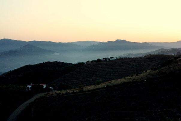 Утро в испанских горах