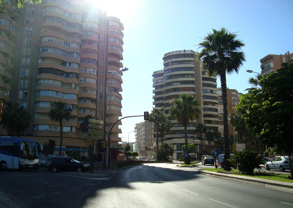 Малага - город на юге Испании