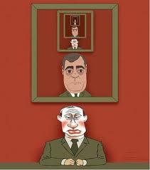 Портрет президента в кабинете