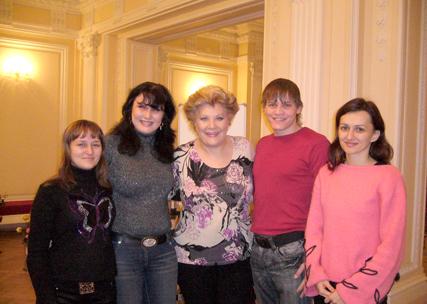 Елена Образцова высоко оценила ставропольских вокалистов