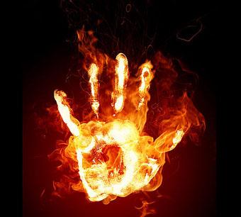 Уважать огонь...