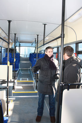Новые автобусы на восстановленных маршрутах