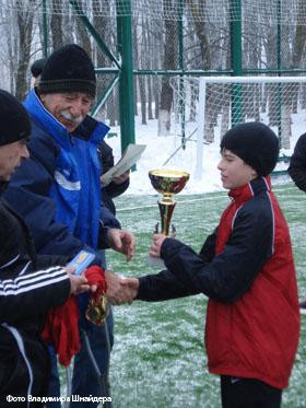 «Первая» стала первой». Футбол: Кубок «Вечерки»