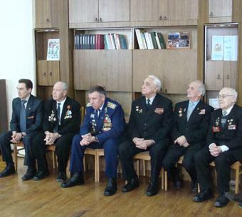 Встреча патриотов четырех поколений