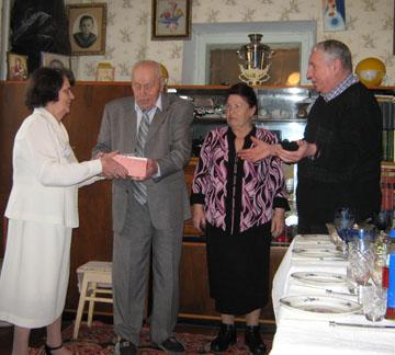 65 лет вместе: сердечные поздравления!