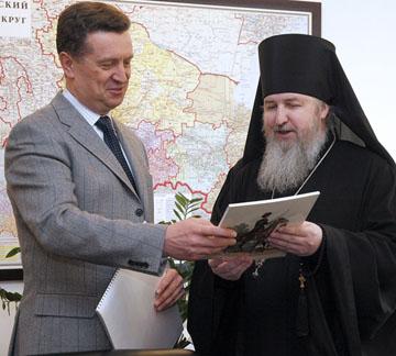 Губернатор встретился с епископом Ставропольским и Невинномысским