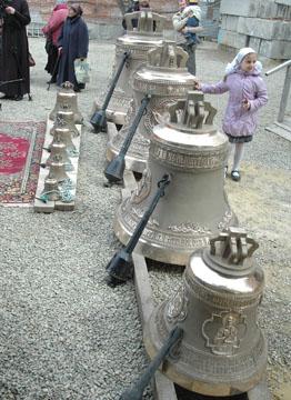 Владыка освятил  колокола