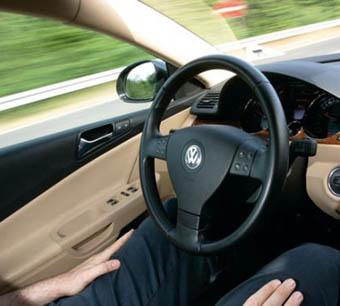 Volkswagen разработал автопилот