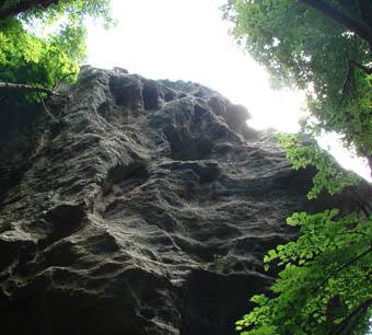 К пещере первобытного человека