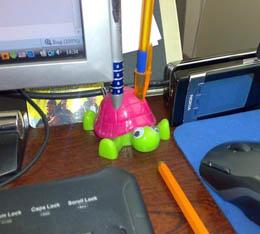 А что на рабочем столе у вас? Если он есть, разумеется