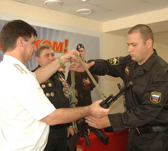 Ставропольский ОМОН  пополнился новыми бойцами