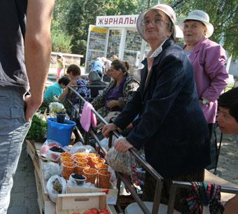 Стихийные, разные — рынки народные