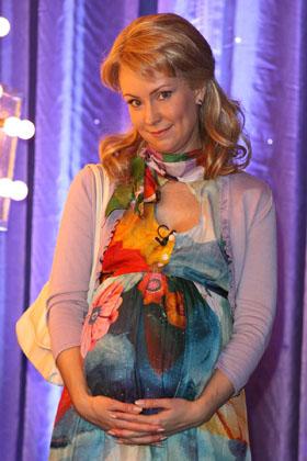 Нонна Гришаева готовится стать мамой