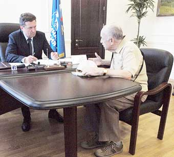 Губернатор провел прием граждан