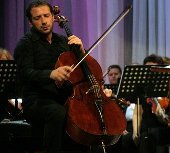 В краевой филармонии солировали  виолончель и фортепиано