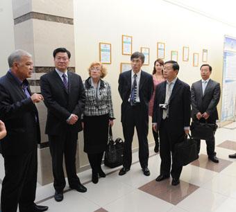 Гости из Китая оценили преимущества ставропольских нанотехнологий