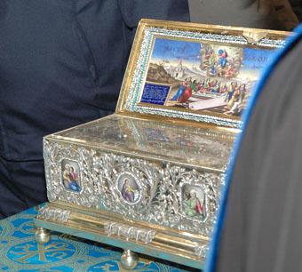 В Ставрополь прибыл Пояс Пресвятой Богородицы
