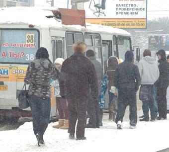 ЕЦДС: «Если Целый День Снег», пассажиры тревожатся
