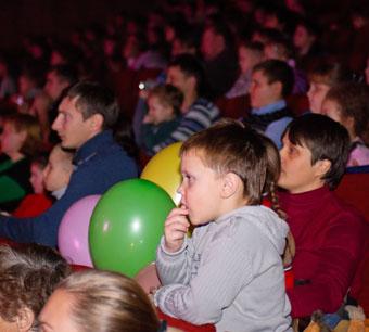 Хрюша, Степашка и КО  в гостях у ставропольских малышей