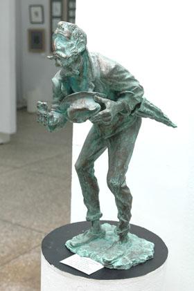 Графика и скульптура в одном проекте