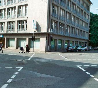 В Германии появятся диагональные пешеходные переходы
