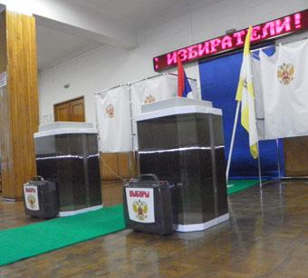 Выборы под прицелом видеокамер