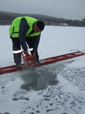 Обманчивый лед Новопятигорского озера стал местом гибели рыбака