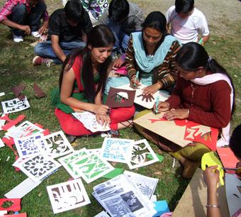 Гималайская экспедиция юных художников