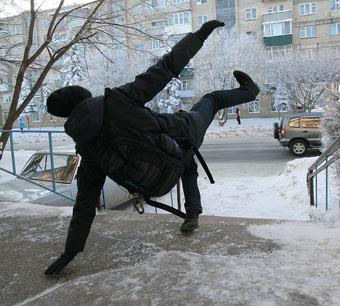 Тяжелый нрав зимы