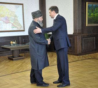 Губернатор встретился с муфтием