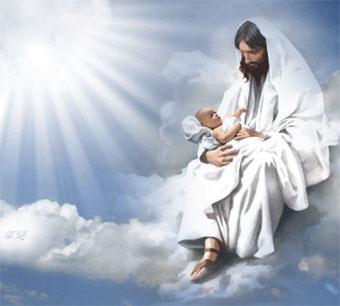 На небо ангелом…