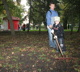 Ставрополь за один день стал значительно чище