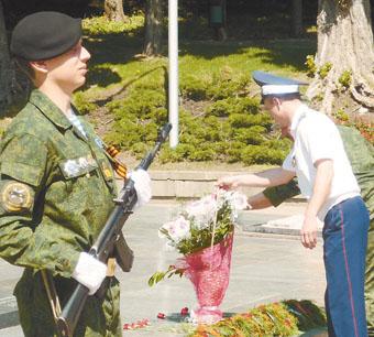 По местам воинской славы