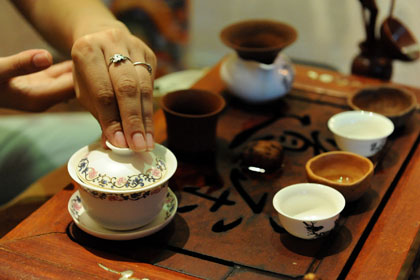 Про чай: лепестки и дзен