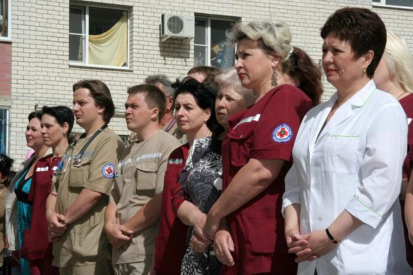 В «Олимпийском» открыли станцию скорой помощи