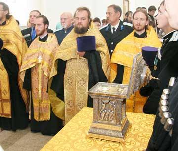 В Ставрополь прибыла христианская святыня