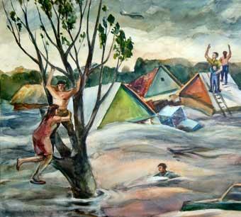 Вода и беда