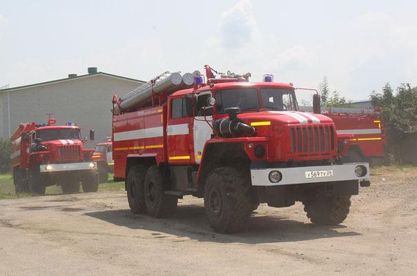«Урал» пожарному товарищ!