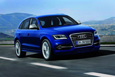 Audi: самая мощная Q5
