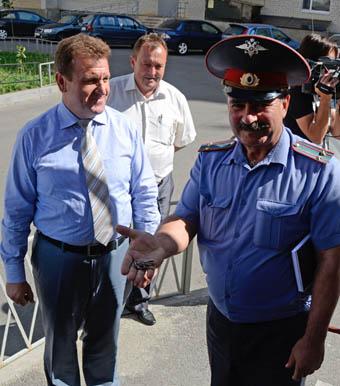 Открылся «Олимпийский» пункт полиции