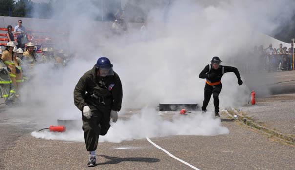 Сбор добровольцев- пожарных