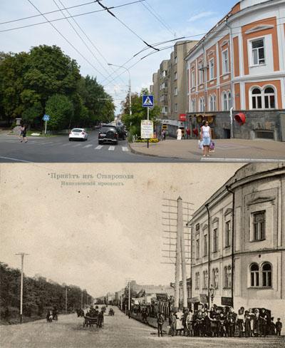 Первая Мещанская, она же — Черкасская, она же — проспект Карла Маркса...