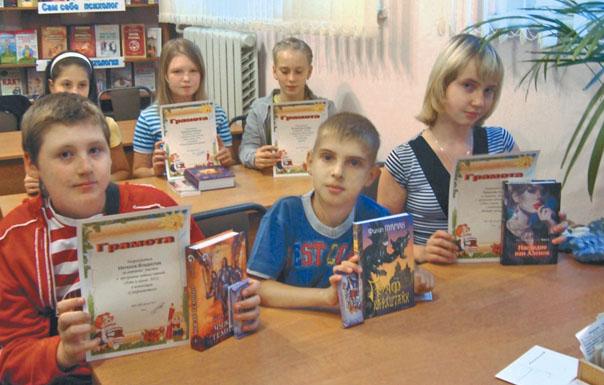 Победители летних чтений - 2012