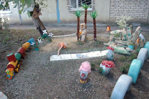Номинация «Садовый декор и малая  архитектура»