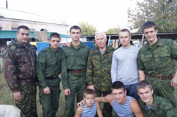 Кадочников познакомил кадетов со своей системой