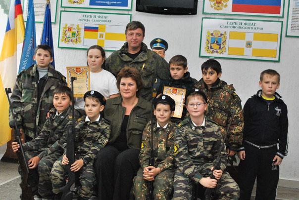 Казачата-снайперы