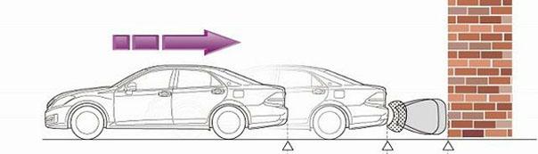 Toyota придумала, как не попадать в аварии на парковках