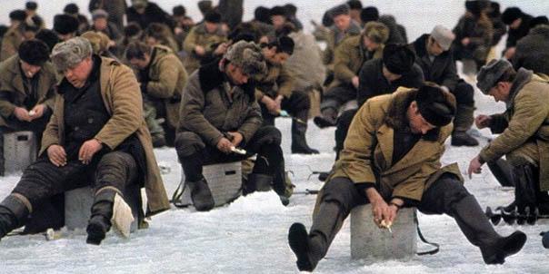 Первые жертвы зимней рыбалки
