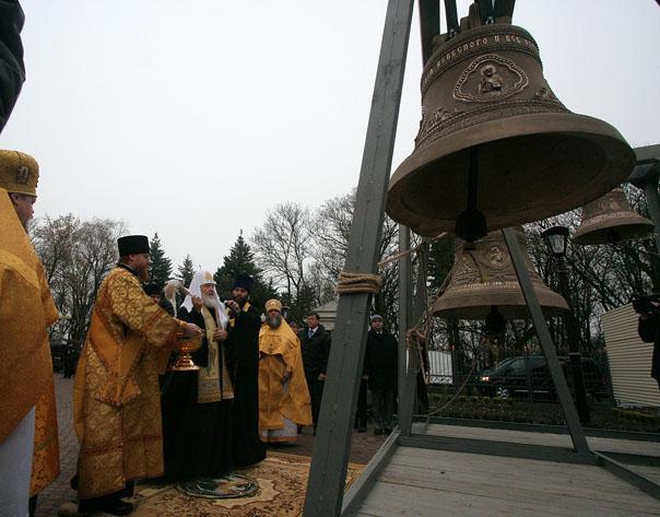 Святейший Патриарх Кирилл освятил  Казанский кафедральный собор в Ставрополе