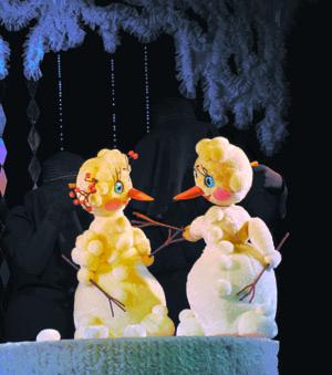 Снежная сказка в театре кукол